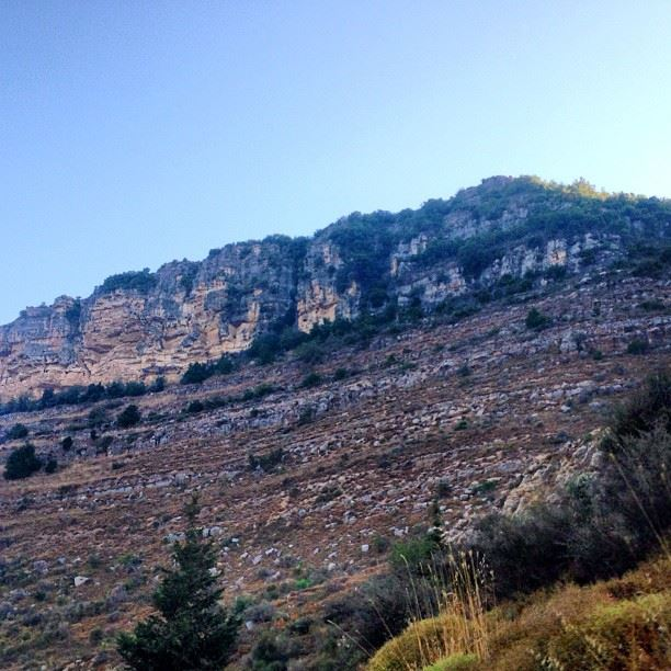 lebanon liban nature nice mountain rocks kfarqatra alshouf alchouf...