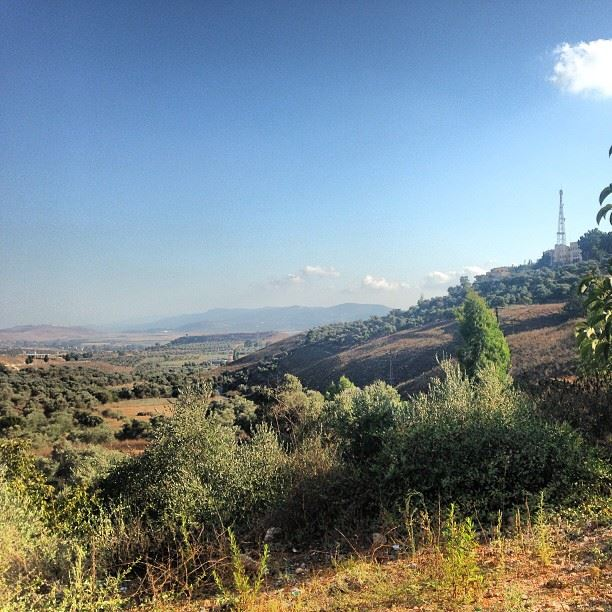 southlebanon view from marjeyoun nature nice instagood iphonasia ... (Marjeyoun)
