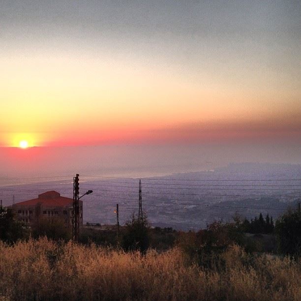 souqelgharb sunset  instafine  instagood  instabeautiful lebanon  liban ...