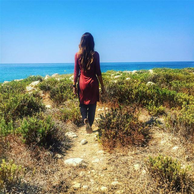 Follow your dreams and have a wonderful day ❤️ batroun love lebanon ... (Batroûn)