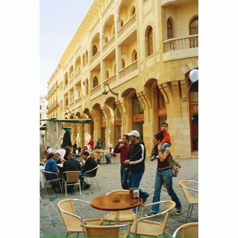Beirut Downtown- 2004 ,
