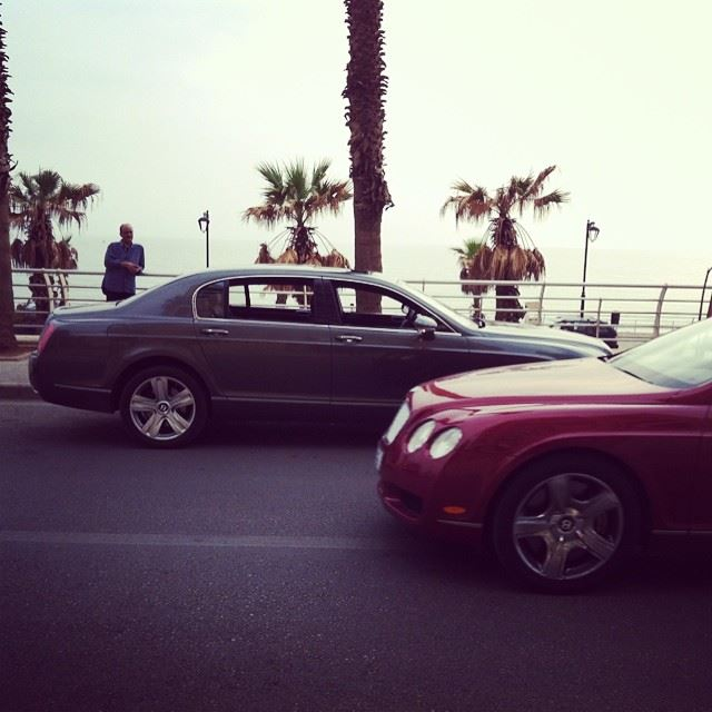 This could only happen in Beirut... bentley cars carlovers tbt beirut...