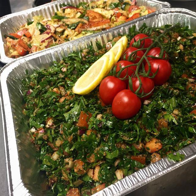 lebanesefood lebanesecuisine food lebanon foodbyafram tabbouli ...