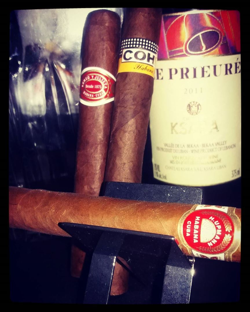 Some wine for wednsday night cigar cigars cigarmagazine ...