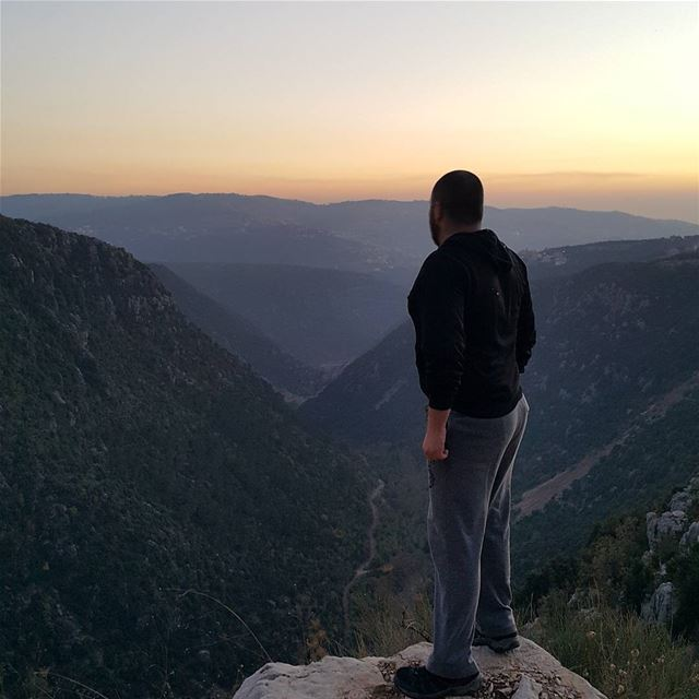 summit valley sunset lebanesesunset livelovekesserwan hiking ...