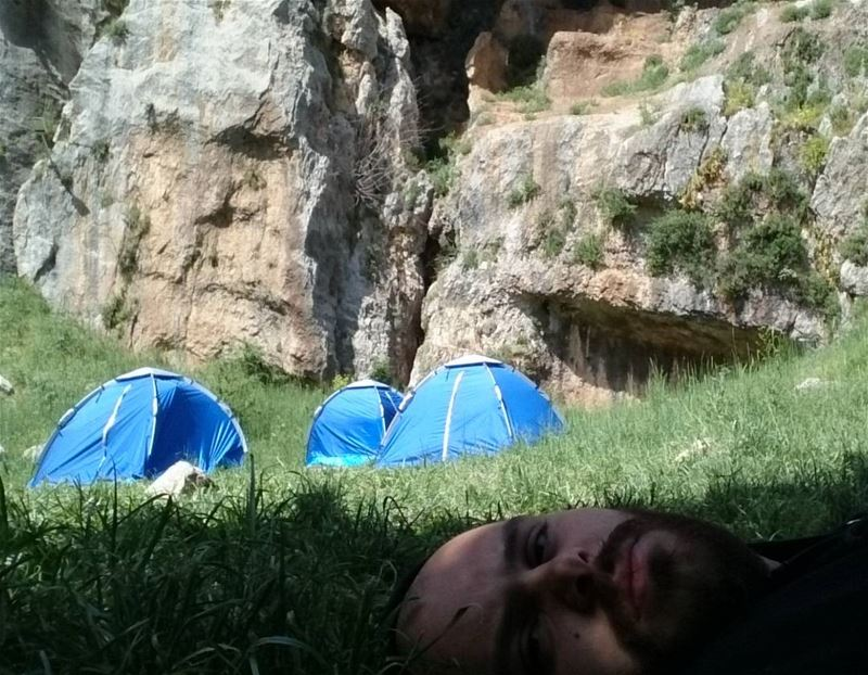 goodmorning lebanon 😄😄😄 naturelovers camping tannourine hiking ...