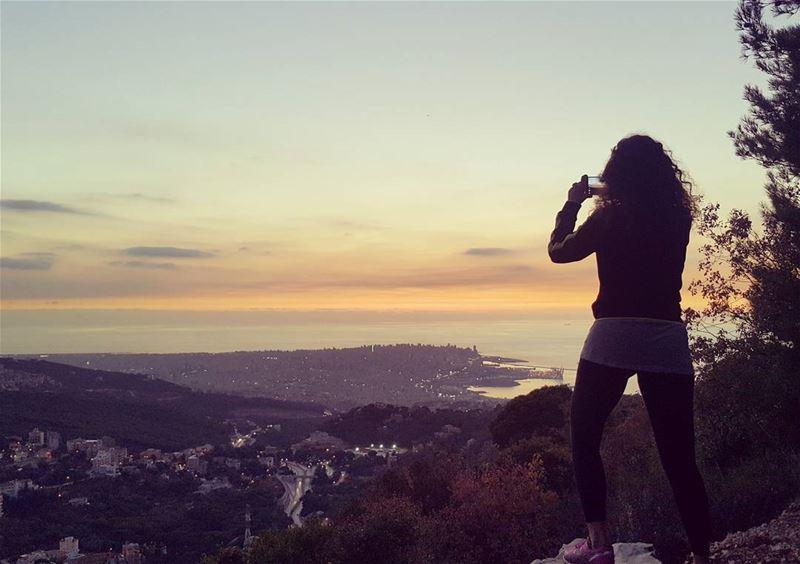 Just a snap sunset lebanon_pictures mylebanon ptk_lebanon hiking ...