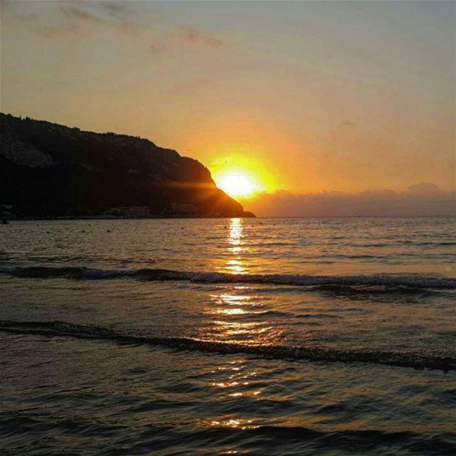 A Sunset at Hery lebanon naturelovers sea vitaminsea ...