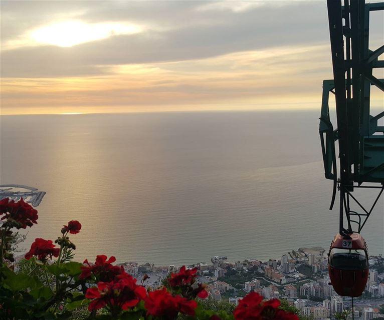 Sunset Kesserwene @antoinettezouein livelovelebanon livelovejounieh ...
