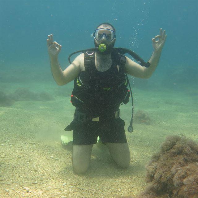 check ok 👌 yoga underwater amchit lebanon summerMissing summer...