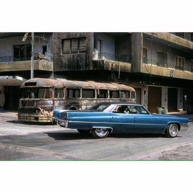 Beirut Achrafieh 1978,