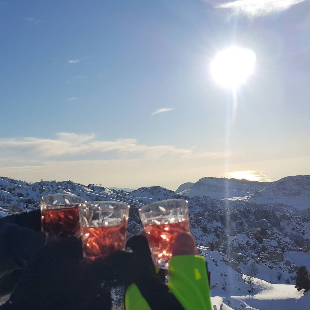 Cheers for the sweet life of the mountains whatsuplebanon ...