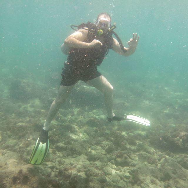 tekram underwater scubadiving amchit lebanon livelovesports ...