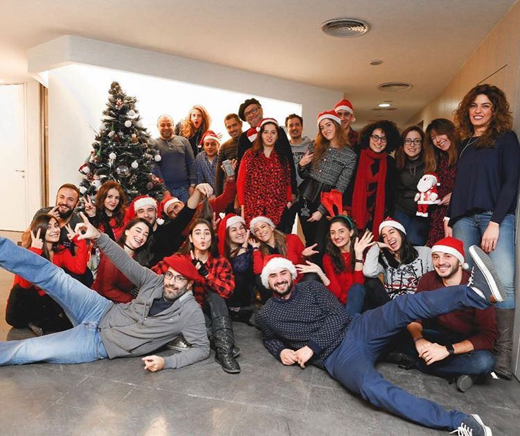 Merry Christmas 🎄 The Dream Team .. christmas M&Csaatchi mylebanon ... (M&C SAATCHI)