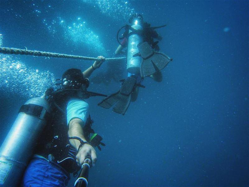 Dive Dive Dive!🔻🔴 .... mylebanon lebanon beautifuldestinations ... (Chekka)