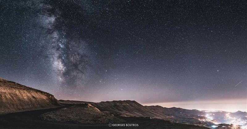 Lost on you✨... mylebanon lebanon milkyway panoramic ...