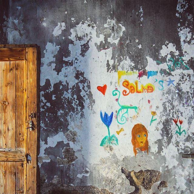 بيت سلمى🍀🌷🍃💙. salma. سلمى lebanon beino beinovillage art ... (Beïno, Liban-Nord, Lebanon)