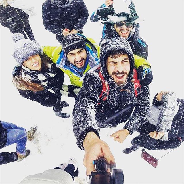 Let it snow ❄️✨ 2k16 gopro mylebanon lebanon snow livelovesports ... (Faraya)
