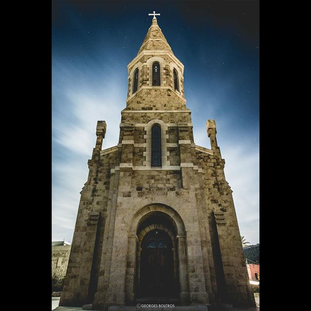 St sarkis & bakhos church - kfarabida - north lebanon. livelovebeirut ... (Kfar Abida)