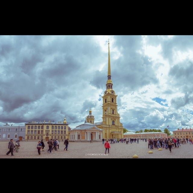 Peter & Paul Fortress - St PetersBurg Russia georgesboutrosphotography ...