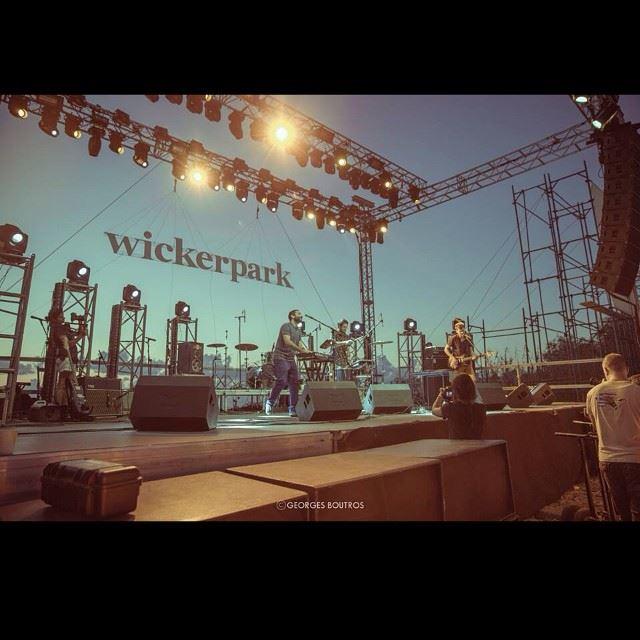 Shot taken at the Wicker park festival at Batroun-Lebanon...
