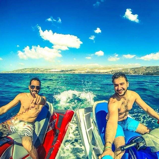 a little bit of summer begins sea jetski sport...