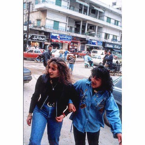 Beirut Borj Al Brajne 1996 .