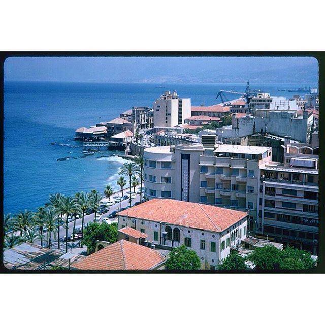 Beirut Zaytoune Quarter in 1965 .