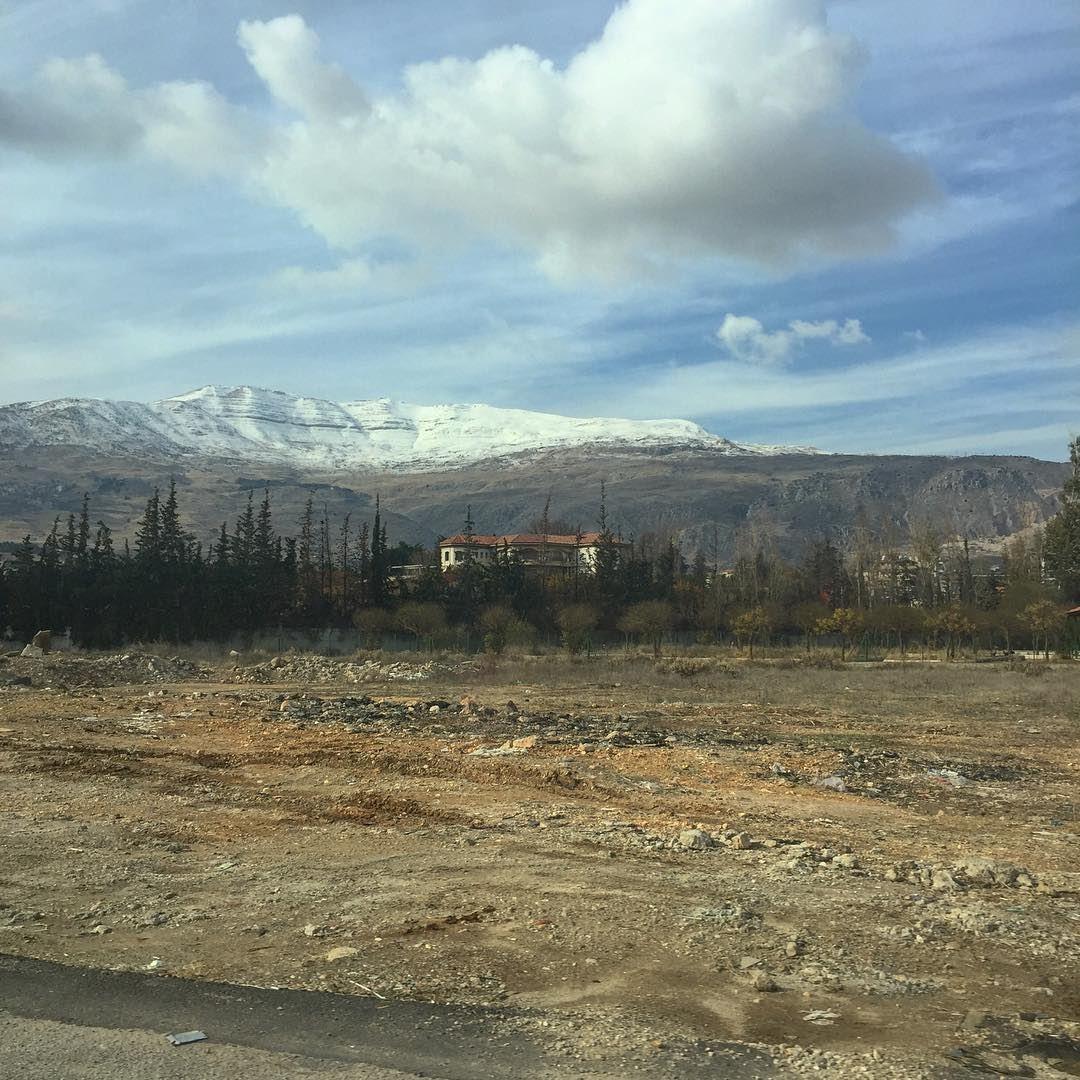 Of lands and mountains lebanon bekaa winter ... (Chtaura)