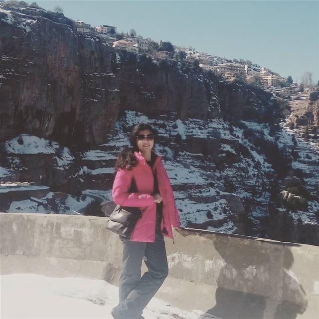 lebanon qannoubine valey ливан ущелье пешком снег (Ouâdi Qannoûbîne, Liban-Nord, Lebanon)