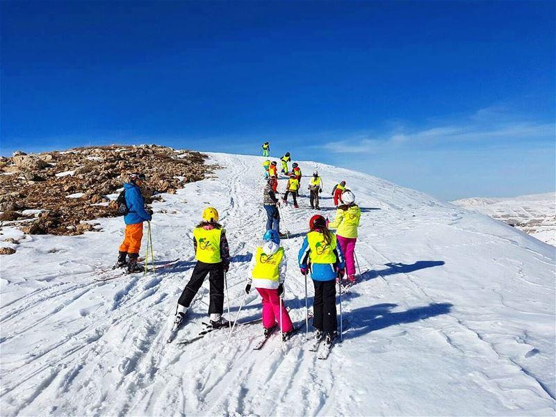 Nothing is impossible with Groupe Z groupez ski skichool lebanon ... (Lebanon)