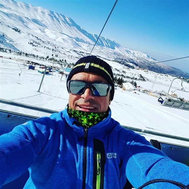 First day on the slopes... . 😎😎  snow  storm  winter  december ... (Cedars of God)