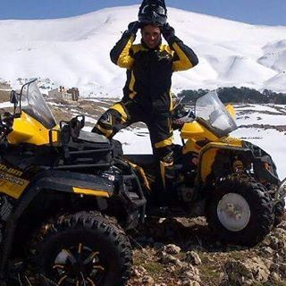 Offroad fun...  canamoutlander  canam  livelovedubai  livelovelife ... (The Cedars, Lebanon)