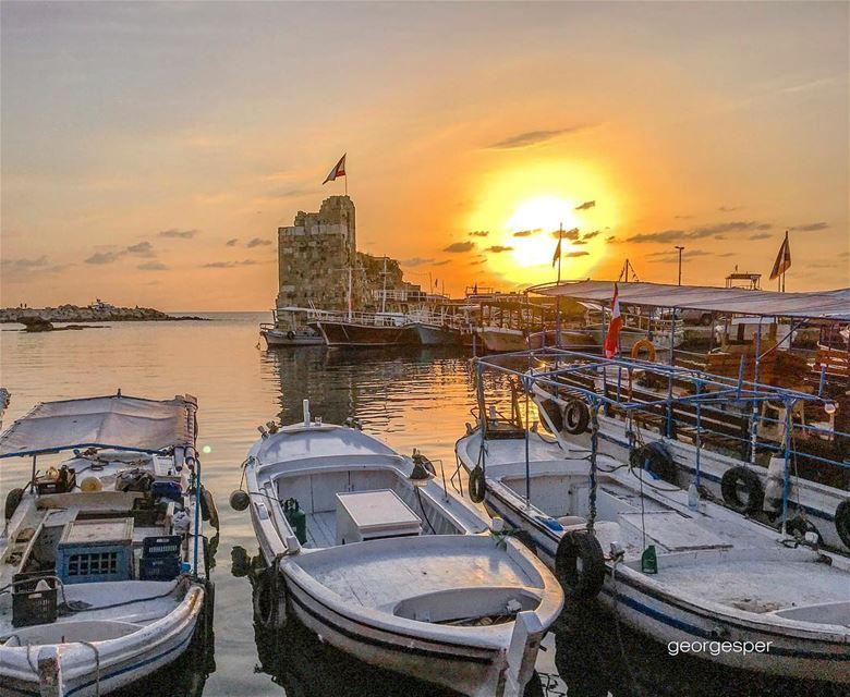 Byblos old Port 🇱🇧.... proudlylebanese beautifullebanon ... (Byblos, Lebanon)