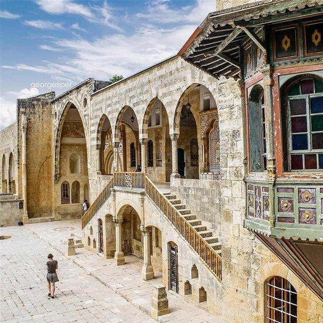 Beit El-Dine Palace, El Shouf Lebanon 🇱🇧.... proudlylebanese ... (Beiteddine Palace)