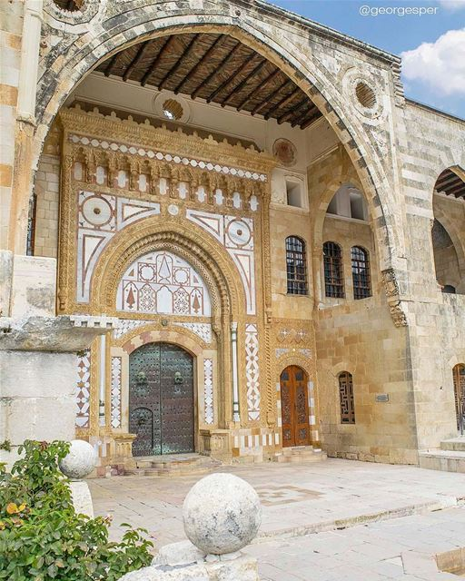 The Beiteddine palace complex, Lebanon's best example of early 19th... (Beiteddine Palace)