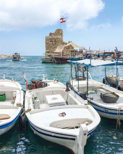 Happy Hump Day 💙.... proudlylebanese beautifullebanon ... (Byblos, Lebanon)
