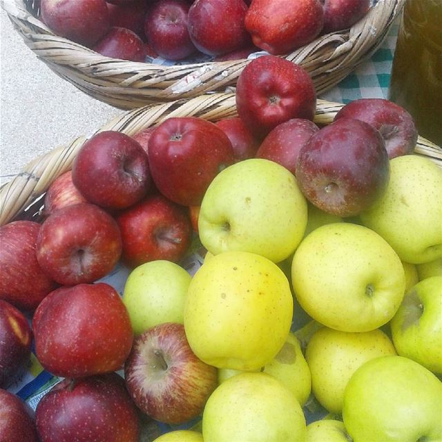 Fresh Produce at the Souk from Hicham Hamzeh's farm in Abbay - Chouf.... (Gefinor Center)