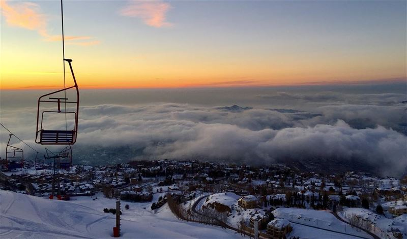 Above the clouds I lift my wing to hear the bell of heaven ring; some of... (Faqra Club)