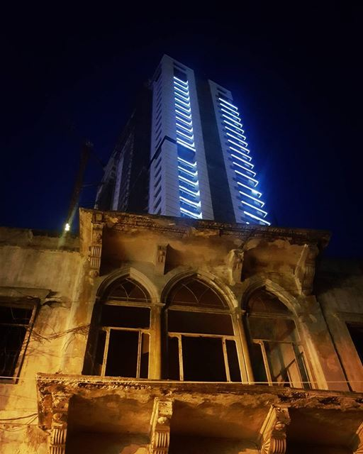 beirut minatelhosn manara newbuild towerscompany tower oldhouse ... (Beirut, Lebanon)
