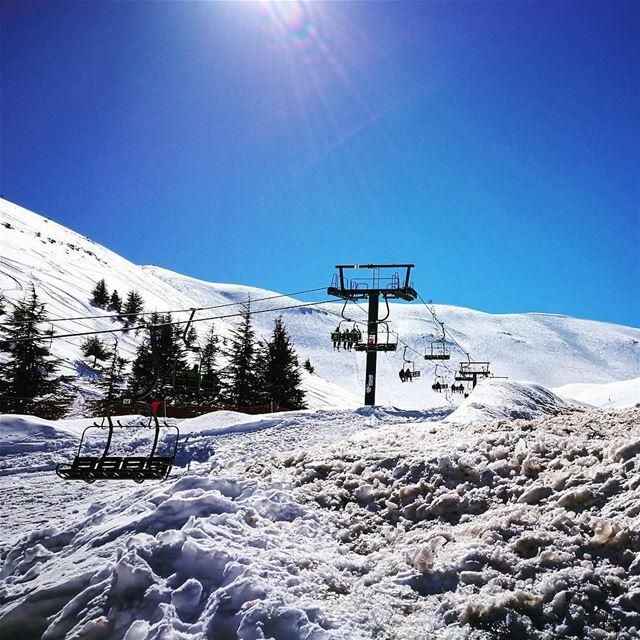 Good morning ❄ (Mzaar Ski Resort)