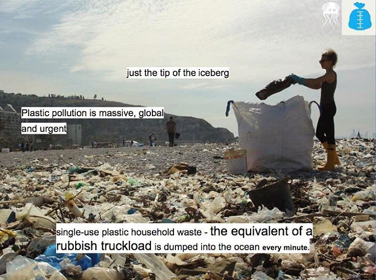 Lebanon's sea is drowning in garbage and washing up onto the beaches. We... (Residence de La Mer)