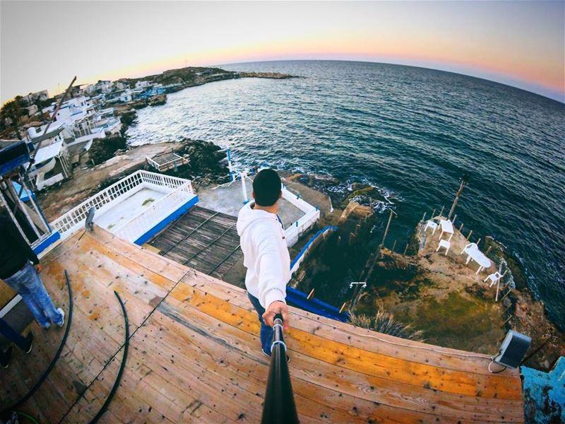 So What ? gopro anfeh livelovelebanon LiveLoveBeirut beach ... (Taht El Rih - Anfah)