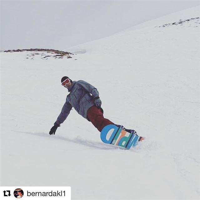 And just like that it's flyyyyyyyyday again. Check out @bernardakl1... (Mzaar Kfardebian Ski Resort)