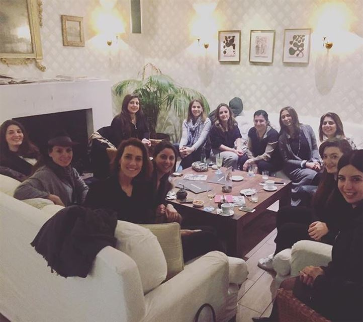Last night Women In Business Meet Up in Beirut ... @mementophoto ...