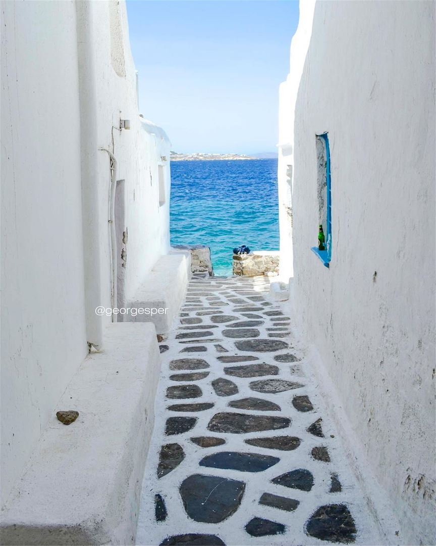 Simplicity 💙..[Flashback]... wow_planet fantastic_earth ... (Mýkonos, Kikladhes, Greece)