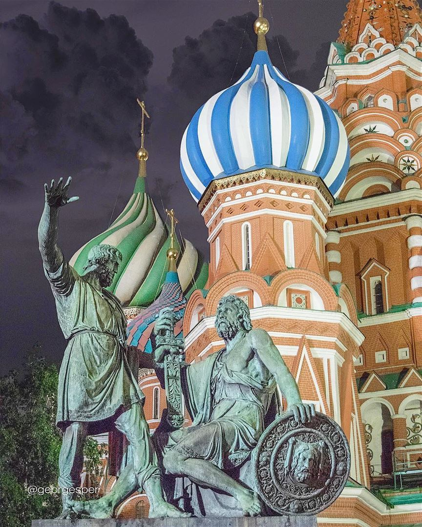 Detail [St Basil Cathedral] wow_planet fantastic_earth bestplaces_togo... (Moscow, Russia)