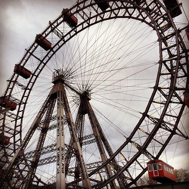 giant Ferris wheel Wien Vienna ig_austria ig_lebanon igworldclub ... (Wiener Riesenrad)