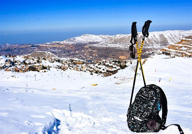 JUST PACK & GO.. lebanon faraya mzaar kfardebian snowshoeing sports ...