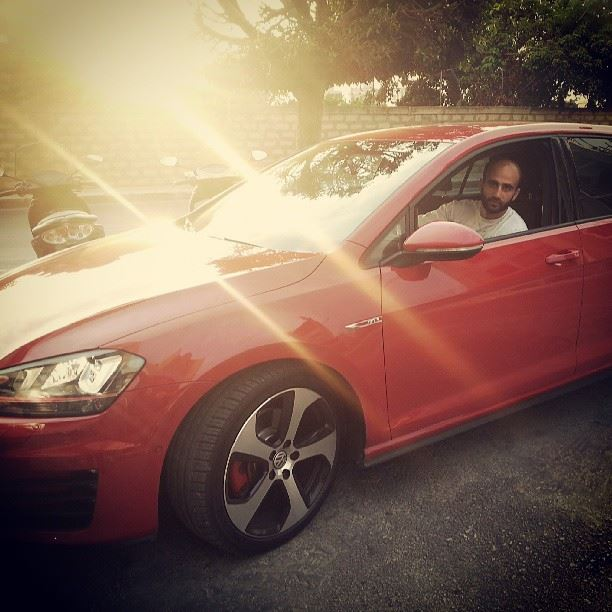 golf7 red lebanon oneofakind speed gti 2013 ...